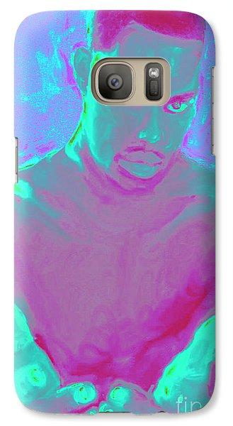 Galaxy Case featuring the digital art Heal My Blues by Vannetta Ferguson