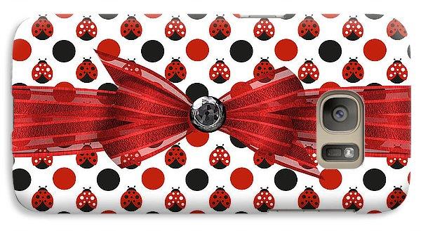 Healing Ladybugs Galaxy Case by Debra  Miller