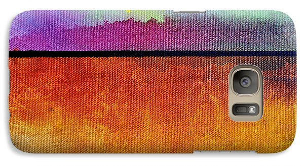 Galaxy Case featuring the painting Heart Call by Christine Ricker Brandt