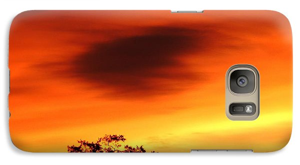 Galaxy Case featuring the photograph Heart In The Sky by Julia Ivanovna Willhite
