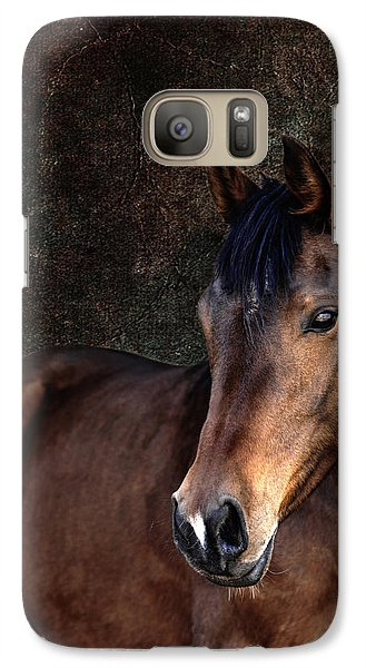 Galaxy Case featuring the photograph Heart by Karen Slagle