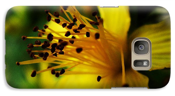 Galaxy Case featuring the photograph Heart Of A Flower by Zinvolle Art