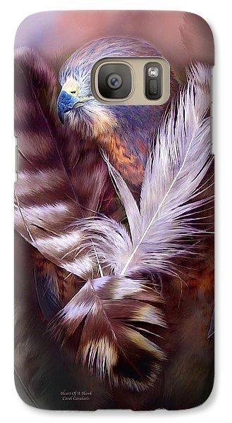 Heart Of A Hawk Galaxy S7 Case