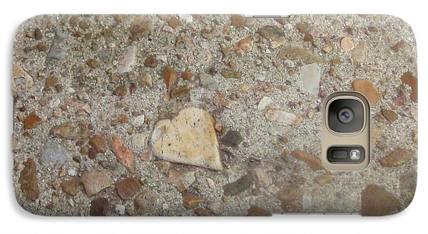 Galaxy Case featuring the photograph Heart Of Stone by Fortunate Findings Shirley Dickerson