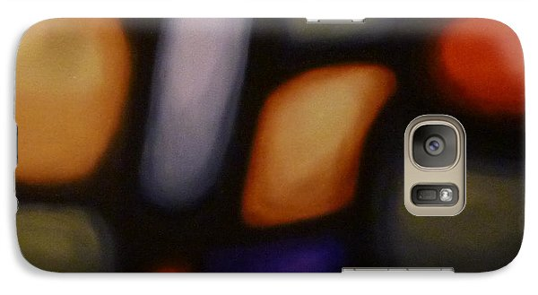 Galaxy Case featuring the painting Heart Of The Matter by Jo Appleby