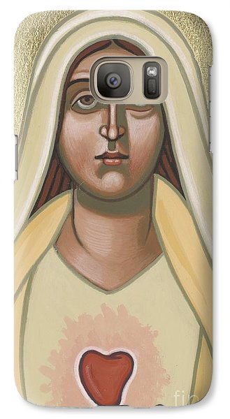 Galaxy Case featuring the painting Heart Of The Mother 252 by William Hart McNichols