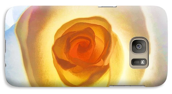 Heart Of The Rose Galaxy S7 Case by Peggy Hughes