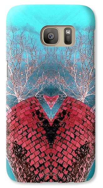 Galaxy Case featuring the photograph Heart Of The Silo by Karen Newell