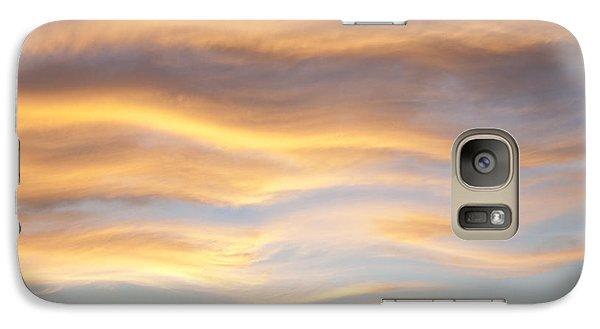 Galaxy Case featuring the photograph Heat Waves by John  Bartosik