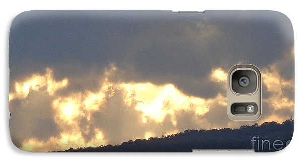Galaxy Case featuring the photograph Heated Drama 1of3 by Christina Verdgeline