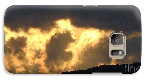 Galaxy Case featuring the photograph Heated Drama 3of3 by Christina Verdgeline