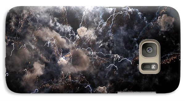 Galaxy Case featuring the photograph Heavenly Light Xvi by Jessie Parker