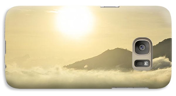 Galaxy Case featuring the photograph Heavenly Peaks by Sebastien Coursol