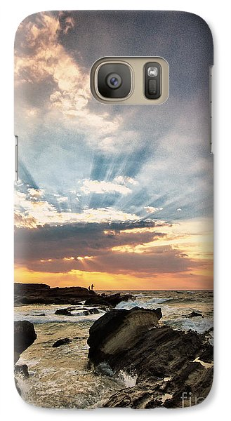 Galaxy Case featuring the photograph Heavenly Skies by John Swartz