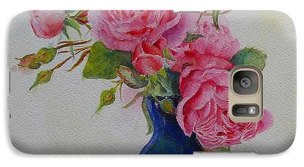 Galaxy Case featuring the painting Heavenly Summer by Beatrice Cloake