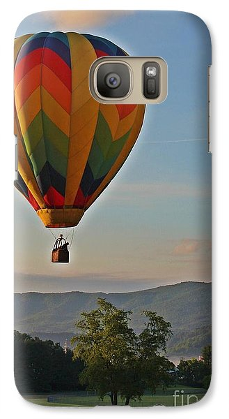 Galaxy Case featuring the photograph Heavenward Ascension by Laurinda Bowling