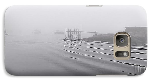 Galaxy Case featuring the photograph Heavy Fog And Gentle Ripples by Marty Saccone
