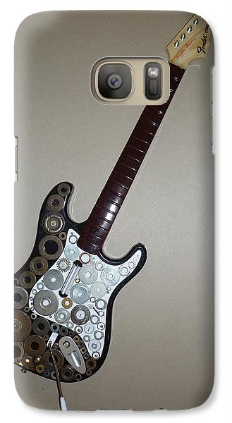 Galaxy Case featuring the sculpture Heavy Metal Guitar #2 by Douglas Fromm