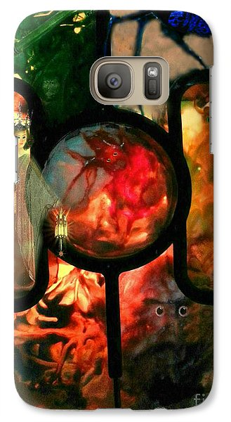 Galaxy Case featuring the mixed media Hecate- Queen Of The Crossroads And Underworld by Steed Edwards