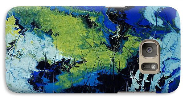 Galaxy Case featuring the painting Hectic Reflections by Arlene Sundby