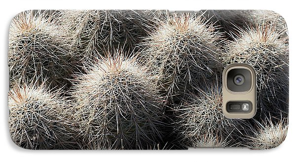 Galaxy Case featuring the photograph Hedgehog Cactus by Avian Resources