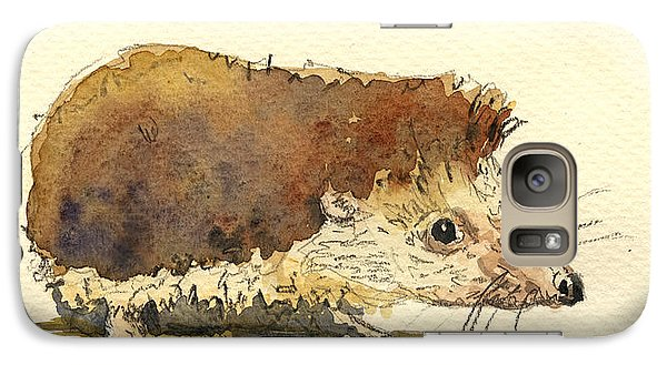 Mouse Galaxy S7 Case - Hedgehog by Juan  Bosco