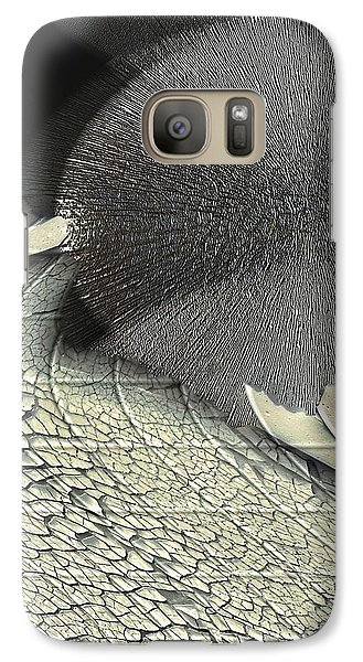 Galaxy Case featuring the photograph Hedgehog by Steve Godleski
