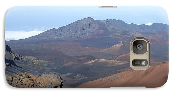 Galaxy Case featuring the photograph Heleakala Volcano In Maui by Richard Reeve