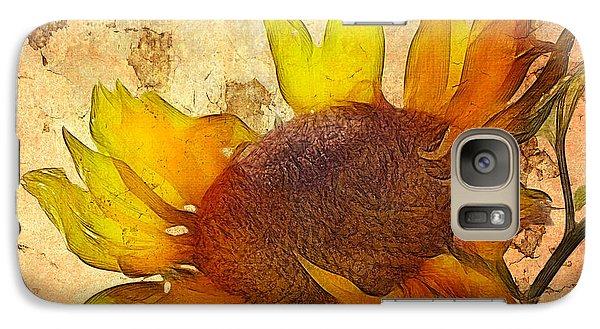 Helianthus Galaxy S7 Case by John Edwards