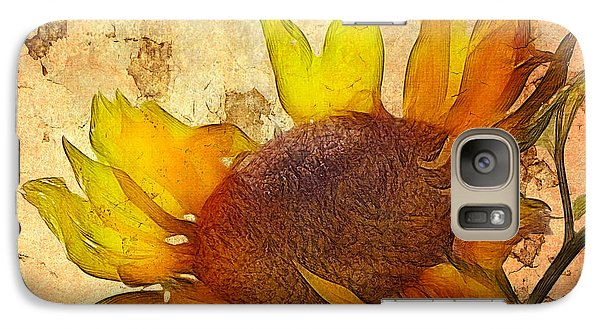 Sunflower Galaxy S7 Case - Helianthus by John Edwards