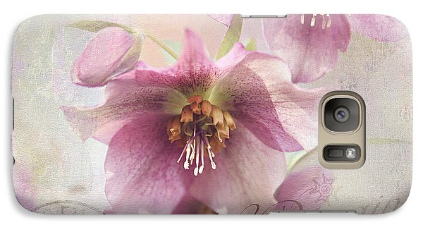 Galaxy Case featuring the photograph Hellebore by Sylvia Cook