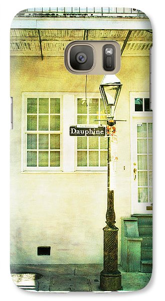 Galaxy Case featuring the photograph Hello Dauphine by Heather Green