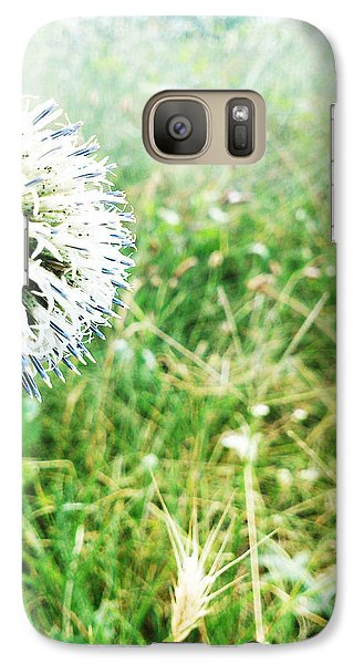 Galaxy Case featuring the photograph Hello by Lucy D