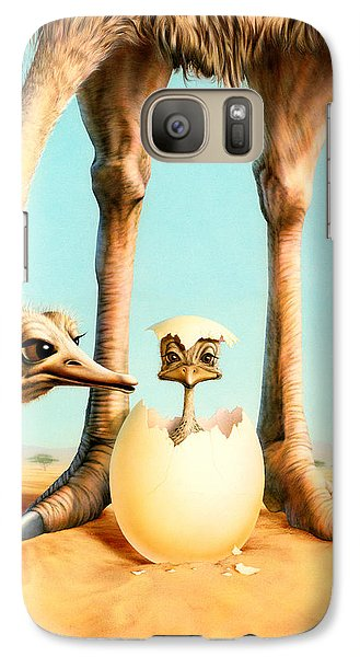 Hello Mum Galaxy S7 Case by Andrew Farley