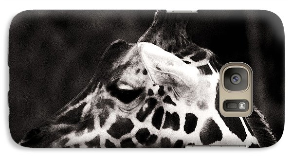 Galaxy Case featuring the photograph Hello Up There by Doc Braham