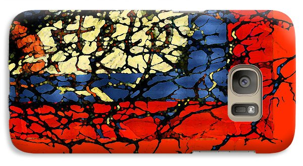 Galaxy Case featuring the digital art Help by Constance Krejci