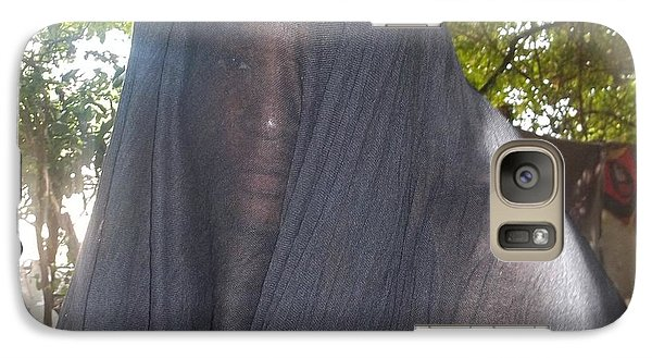 Galaxy Case featuring the photograph Help Me Jesus by  Simon