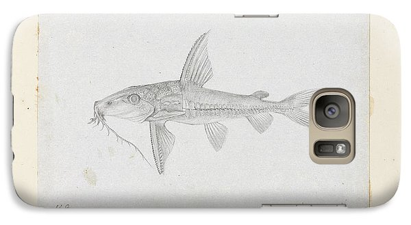 Catfish Galaxy S7 Case - Hemidoras Stenopeltis by Natural History Museum, London