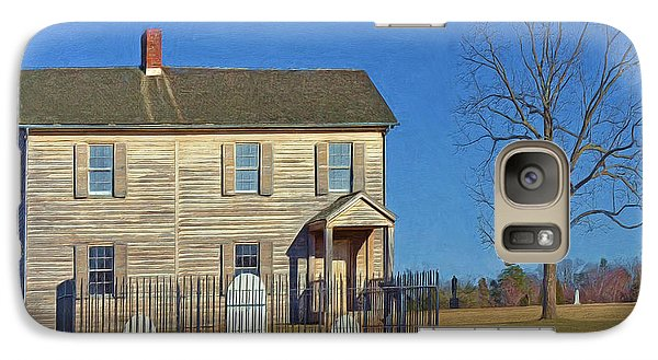 Henry House In Winter / Manassas National Battlefield Galaxy S7 Case