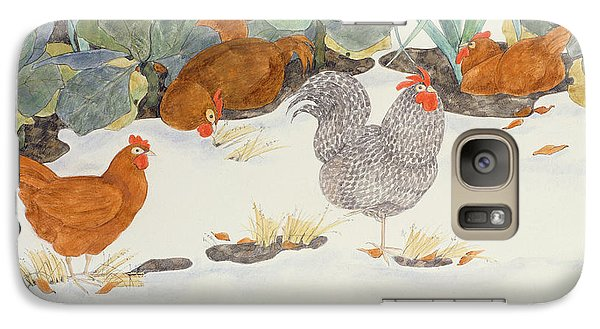Hens In The Vegetable Patch Galaxy S7 Case