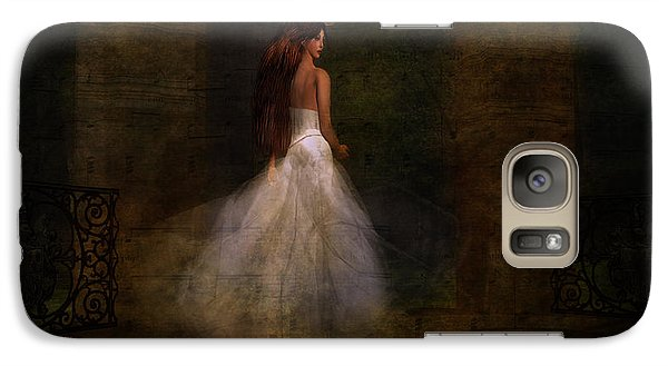 Galaxy Case featuring the digital art Her Day by Kylie Sabra