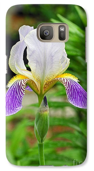 Galaxy Case featuring the photograph Her Majesty Iris  by Steve Augustin