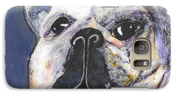 Galaxy Case featuring the digital art Her Name Is Lola by Lisa Noneman
