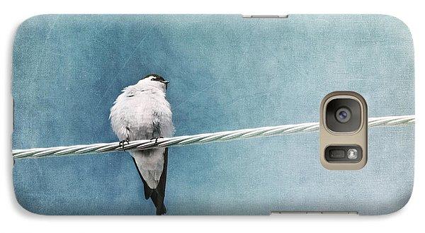 Swallow Galaxy S7 Case - Herald Of Spring by Priska Wettstein