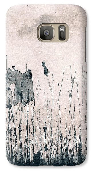 Galaxy S7 Case featuring the painting Herbes Souillees by Marc Philippe Joly