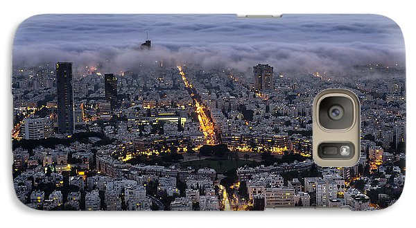 Galaxy Case featuring the photograph Here Comes The Fog  by Ron Shoshani