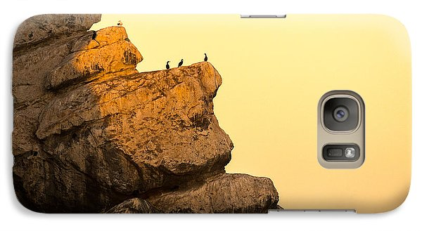 Galaxy Case featuring the photograph Here Comes The Sun by Terry Garvin