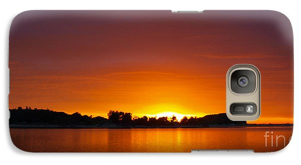 Galaxy Case featuring the photograph Here Comes The Sun by Trena Mara