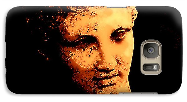 Galaxy Case featuring the painting Hermes Trismegistus by Persephone Artworks