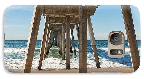 Hermosa Beach Pier Galaxy S7 Case